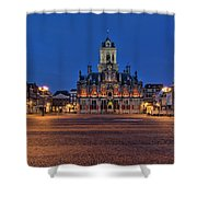 Delft Blue Shower Curtain