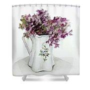 Delicate Bouquet Shower Curtain