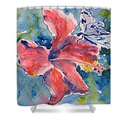 Delicate Butterfly Shower Curtain