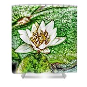 Delicate Fragrance Shower Curtain