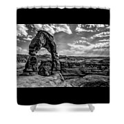 Time Stands Still Shower Curtain
