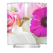 Delicate Intricate Shower Curtain