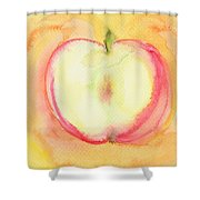 Delicious Apple Shower Curtain