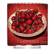 Delicious Cherries Shower Curtain