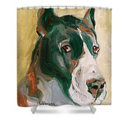Delicious Dane Shower Curtain