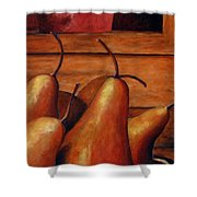 Delicious Pears Shower Curtain