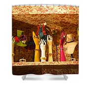 Delight For Ladies Shower Curtain