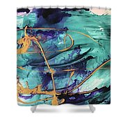 Delight II Shower Curtain