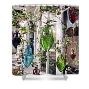 Delightful Hanging Gardens Shower Curtain