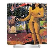 Delightful Land. Te Nave Nave Fenua Shower Curtain
