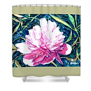 Delightful Peony Shower Curtain