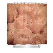 Delightful Scent Of Roses Shower Curtain