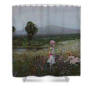 Delights Of Spring - Lmj Shower Curtain
