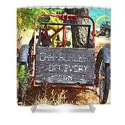 Delivery Shower Curtain