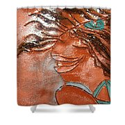 Della - Tile Shower Curtain