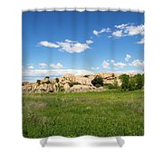 Dells And Lake Shower Curtain