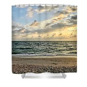 Delnor At Dusk  Shower Curtain