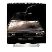 Delorean Shower Curtain
