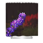 Delphinium Shower Curtain