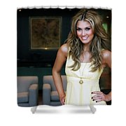 Delta Goodrem Shower Curtain