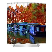 Delta Light And Reflections Shower Curtain