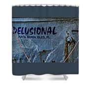 Delusional Shower Curtain