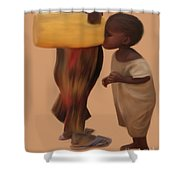 Demand For Clean Water 1 Shower Curtain