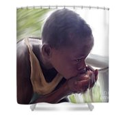 Demand For Clean Water 4 Shower Curtain