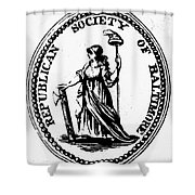 Democratic-republican Party Shower Curtain