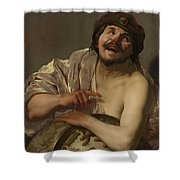 Democritus, 1628 Shower Curtain