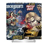 Demon Knights Shower Curtain