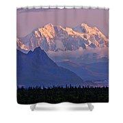 Denali Glows Shower Curtain