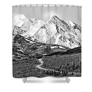 Denali - Number One Shower Curtain
