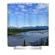 Denali State Park Shower Curtain