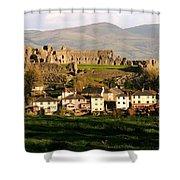 Denbigh Castle Shower Curtain