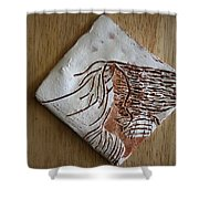 Deneice - Tile Shower Curtain