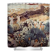 Denis: Paradise, 1912 Shower Curtain
