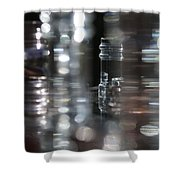 Denmark Abstract Of Glass Chess Set Shower Curtain