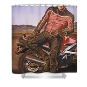 Dennis Hopper Shower Curtain