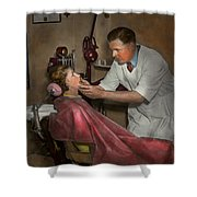 Dentist - Making An Impression - 1936 Shower Curtain