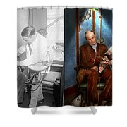 Dentist - Monkey Business 1924 - Side By Side Shower Curtain