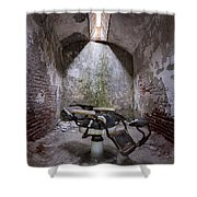 Dentist's Chair-eastern State Shower Curtain