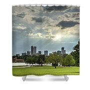 Denver After The Rain Shower Curtain