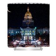 Denver Capital Nights Shower Curtain