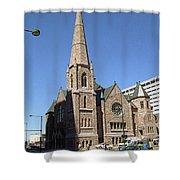 Denver Downtown Church Shower Curtain