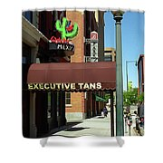 Denver Downtown Storefront Shower Curtain