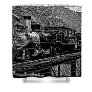 Denver-rio Grande Rr Shower Curtain