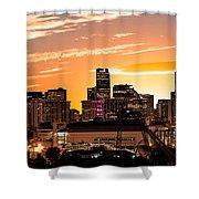 Denver Sunrise Iv Shower Curtain