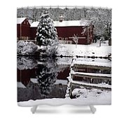 Denville Homestead Shower Curtain