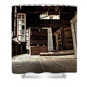 Departed Years Shower Curtain